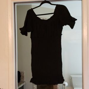 Black adorable dress!